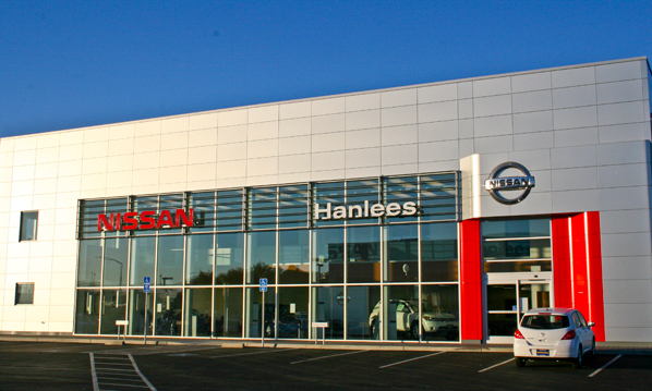USA All Glass Hanlees Honda Project